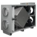 HRS H 1900 E EKO hővisszanyerő légkezelő, oldalsó csonkozással, 1900 m3/h légszáll.
