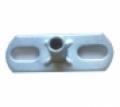 Alaplemez (alaplap kombinált furatú hatlapú anyával) M08 / M10