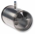 Beszerelés után, utólag is állítható, kör keresztmetszetű légmennyiség szabályzó - VRS 355