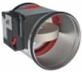 CR2 + CFTH kézi, kör keresztmetszetű tűzcsappantyú 120 perc tűzállósággal NA 630 mm