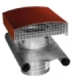 Tetősapka acél CT160 R