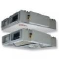 HRS CW 1200 EKO hővisszanyerő légkezelő, vízszintes csonkozású,  1200 m3/h kapacitással