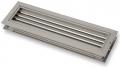 DRR alumínium ajtó szellőző rács - 200x100 mm