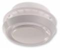 Műanyag elszívó/befúvó légszelep ellenkerettel DVK Na 125