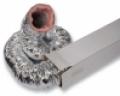 Hő-, és hangszigetelt flexibilis cső SONOFLEX 25 NA180 mm L=10 m