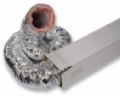 Hő-, és hangszigetelt flexibilis cső SONOFLEX 25 NA400mm L=10 m