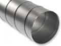 Horganyzott acél spiko cső NA 125 mm L=1 m