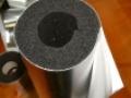 K-Flex Al-Clad kaucsuk csőhéj 19 x 125 mm (1m/szál)