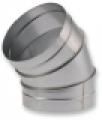 Könyök 45° ISO NA  560 mm szeletes