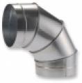 Könyök 90° ISO NA  350 mm szeletes