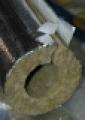 """Alukasírozott kőzetgyapot (bazaltgyapot) szigetelő csőhéj  30 /  89 mm (3"""")"""