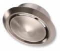 Rozsdamentes acél elszívó/befúvó légszelep szerelőhüvellyel DVI NA 100 mm