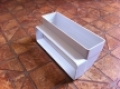 Műanyag lapos légcsatorna 90°-os függőleges könyök 60 x 204 mm-es légcsatornákhoz