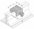 Peremszorító kapocs (légcsatorna összekötő) 30 x 2,5