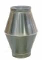 Betétkúpos kifúvófej  NA 125 mm ISO