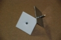 Öntapadó rögzítőszeg (tüske) tárcsával L =  33 mm