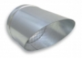 Madárhálós csővég UT ( kivezető elem ) NA 100 mm