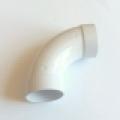 Aldes központi porszívó könyök 90° B/B (nagyívű) - DN51