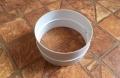 Műanyag kör keresztmetszetű légcsatorna csőtoldó elem (anya) NA 100 mm-es légcsatornákhoz