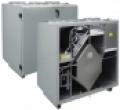 HRS  V 1200 EL EKO hővisszanyerő légkezelő, függőleges csonkozású, balos csatlakozású,  1200 m3/h
