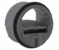 Csőbe tolható állandó légmenny. szabályzók KVR-HP-R 80-250 mm • 25-1300 m³/h között (fix)