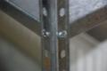 Dexion rendszerű horganyzott fém polcok