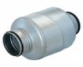 Horganyzott acél burkolatú hangcsillapító  SARG jelű NA 160 mm •  L =  300 mm