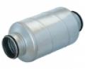 Horganyzott acél burkolatú hangcsillapító  SARG jelű NA 160 mm •  L =  600 mm