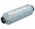 Horganyzott acél burkolatú hangcsillapító  SARG jelű NA 160 mm •  L =  900 mm